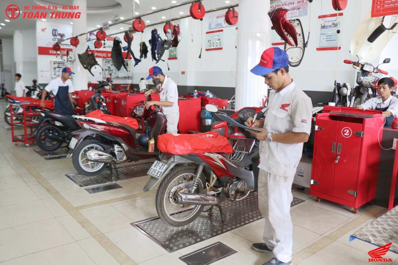 Top 7 Tiệm sửa xe máy uy tín nhất TP. Pleiku, Gia Lai