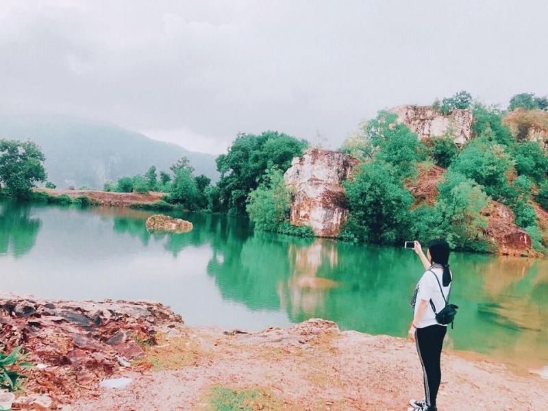 Top 10 Hồ nước tuyệt đẹp ở vùng Bảy Núi An Giang