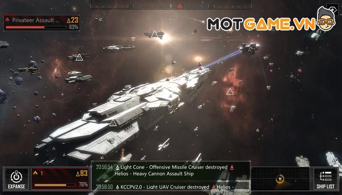 Infinite Lagrange – Bom tấn chiến thuật mô phỏng chiến tranh không gian vũ trụ của NetEase!