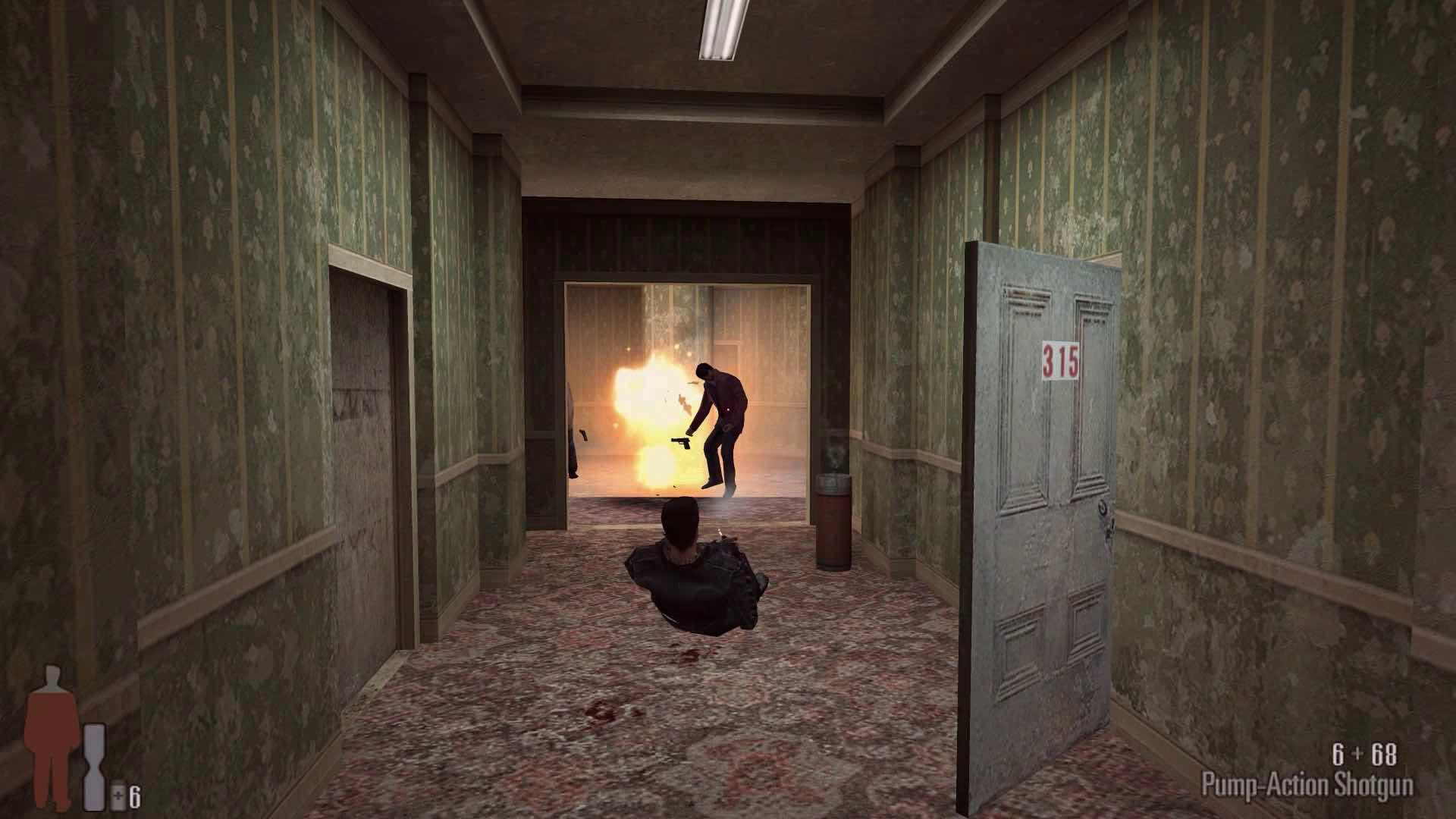 Bất chấp 20 năm tuổi đời, Max Payne vẫn là một siêu phẩm game hành động