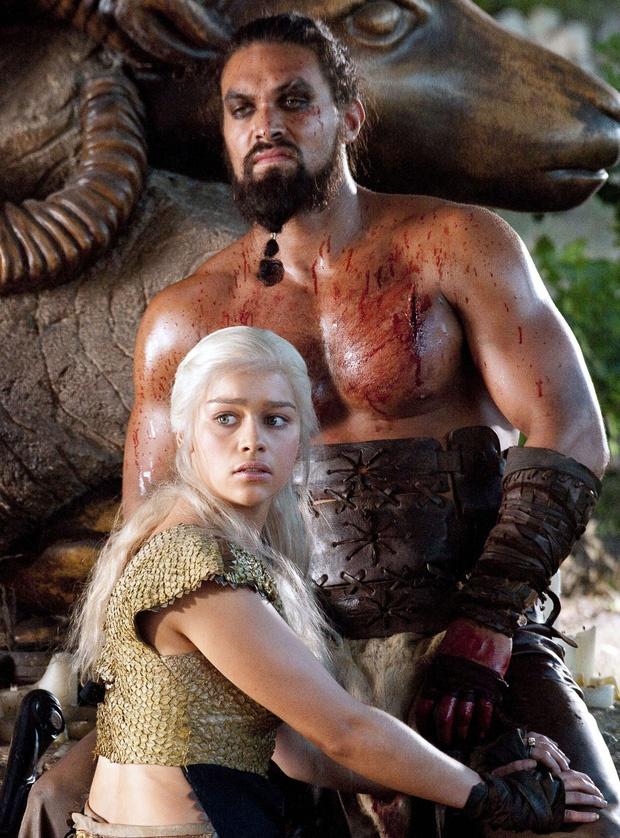 Jason Momoa khó chịu khi bị hỏi về cảnh nhạy cảm ở 'Game of Thrones'