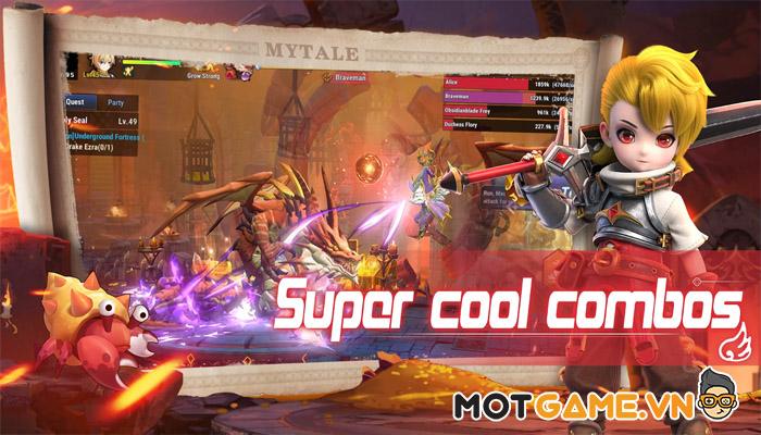 Mytale: MMORGP nhập vai 3D hấp dẫn không thua gì huyền thoại Dragon Nest!