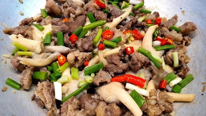 Top 6 Món ăn ngon nhất được chế biến từ Nấm Bào Ngư (Nấm Sò) mà bạn nên biết
