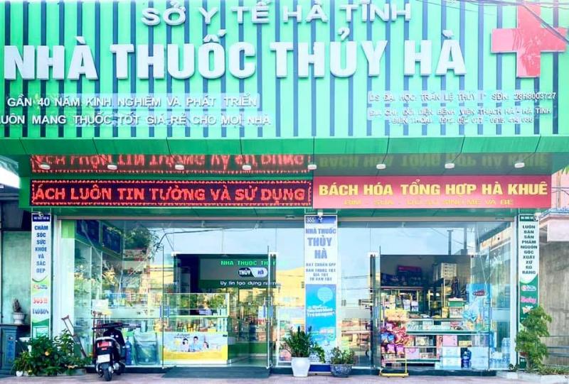 Top 10 Tiệm thuốc tây uy tín nhất Hà Tĩnh