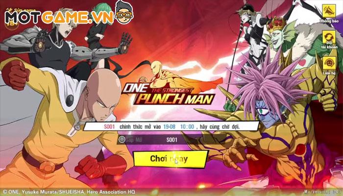 Trải nghiệm bom tấn thẻ tướng One Punch Man: The Strongest VNG ngày đầu ra mắt!