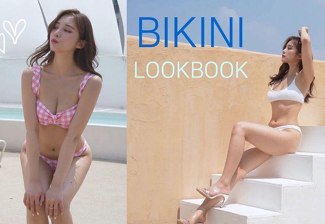 """Làm clip Lookbook, khoe nội y và bikini trên sóng với định dạng 4K siêu nét, nữ YouTuber khiến fan """"mất máu"""" vì quá gợi cảm"""