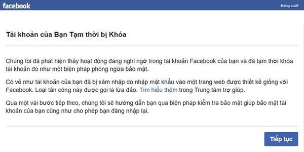 Cẩn thận dịch vụ mở khóa, lấy lại tài khoản Facebook