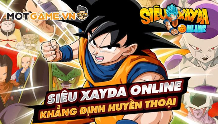 Siêu Xayda Online: Cuộc Chiến Vũ Trụ game thẻ tướng Dragon Ball thế hệ mới!
