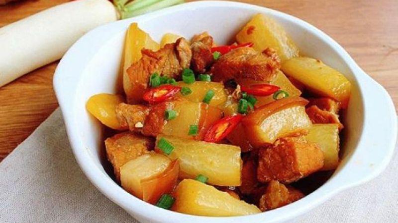 Top 10 Món ăn ngon chế biến từ Củ cải trắng