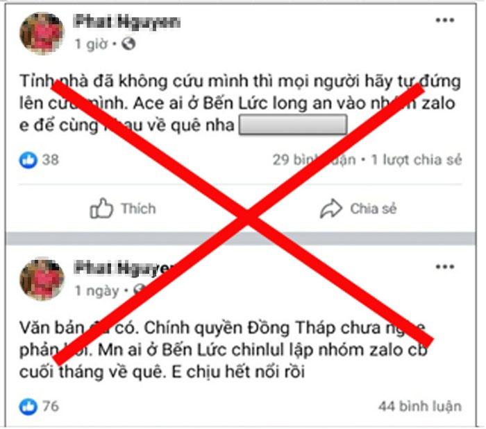 Lên Facebook rủ rê về quê, 2 thanh niên bị công an mời lên làm việc