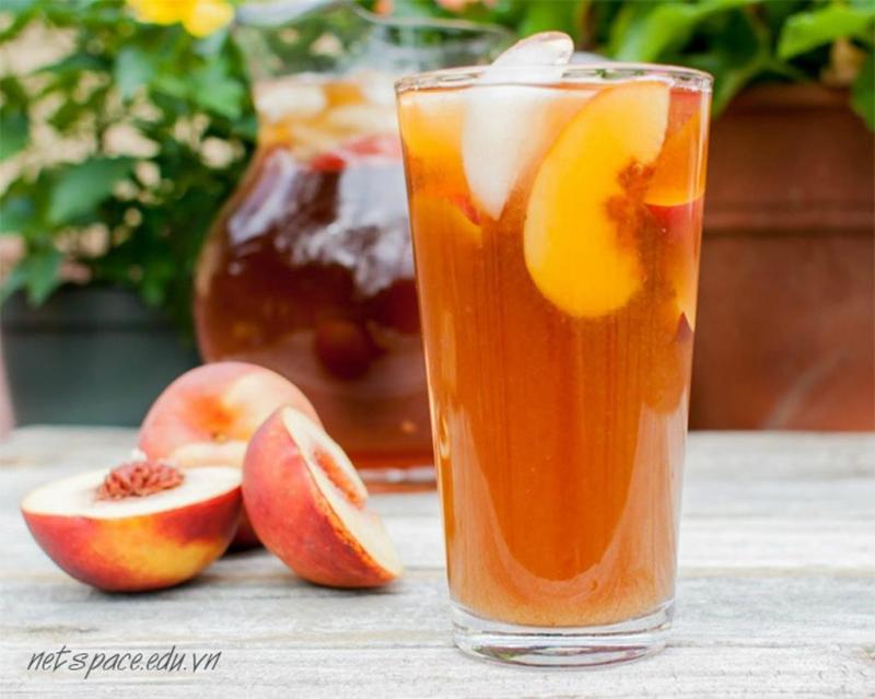 Top 7 Các món ăn, thức uống ngon chế biến từ quả Đào mà bạn nên biết