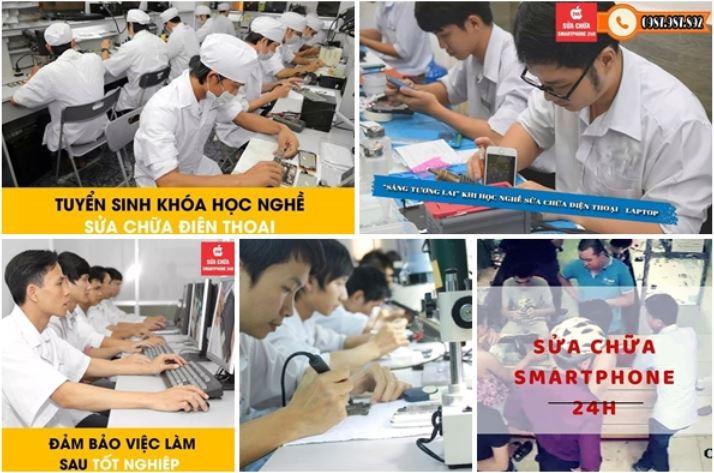 Top 9 Địa chỉ sửa chữa điện thoại tốt nhất quận Đống Đa, Hà Nội