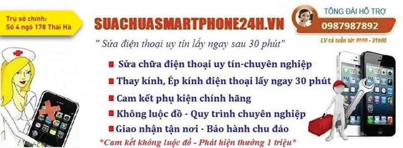Top 7 Cửa hàng sửa chữa điện thoại uy tín nhất Thái Hà, Hà Nội