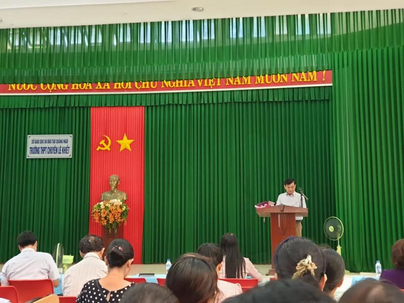 Top 5 Trường THPT tốt nhất tỉnh Quảng Ngãi