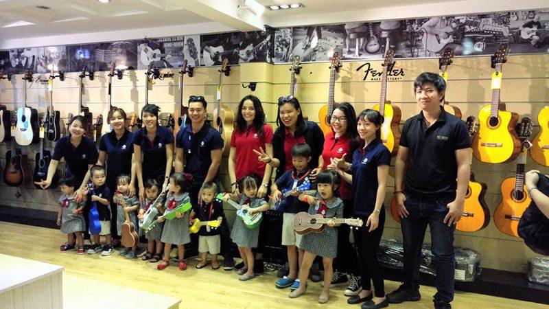 Top 10 Trung tâm dạy âm nhạc lớn nhất ở TP. Hồ Chí Minh