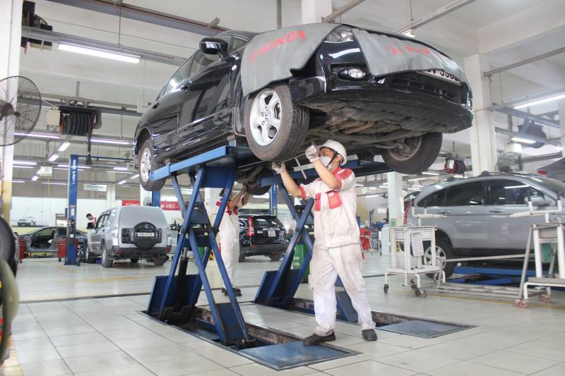 Top 6 Xưởng/ Gara sửa chữa ô tô Honda uy tín và chuyên nghiệp nhất ở Hà Nội