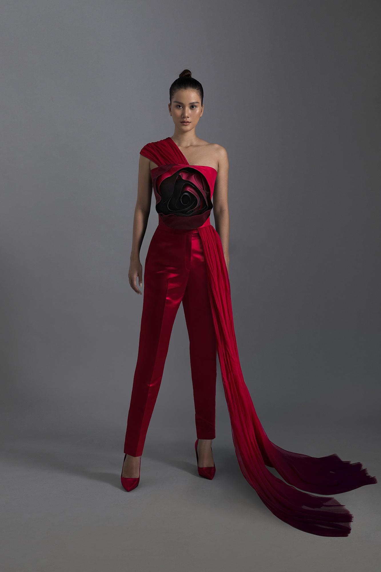 Người mẫu Hương Ly làm 'nàng thơ' của nhà thiết kế Trần Hùng tại London Fashion Week
