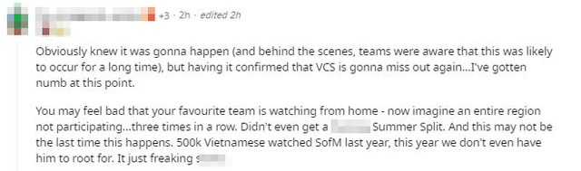 Cộng đồng quốc tế chia buồn khi VCS lỡ hẹn CKTG 2021, HLV trưởng của GAM ám chỉ Garena/Riot thiếu tôn trọng, thất hứa?