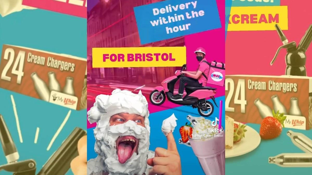 Quảng cáo khí gây cười trên TikTok bị chỉ trích ở Anh