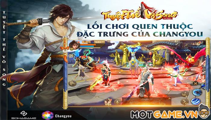Tuyệt Thế Vô Song Mobile: Tựa game nhập vai kiếm hiệp mới chuẩn ChangYou