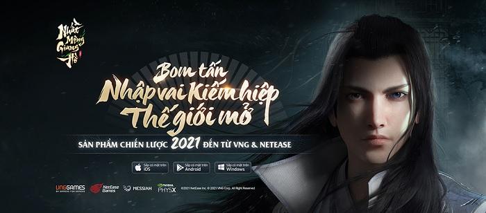 Nhất Mộng Giang Hồ VNG chính thức ra mắt game thủ Việt ngay đầu tháng 10