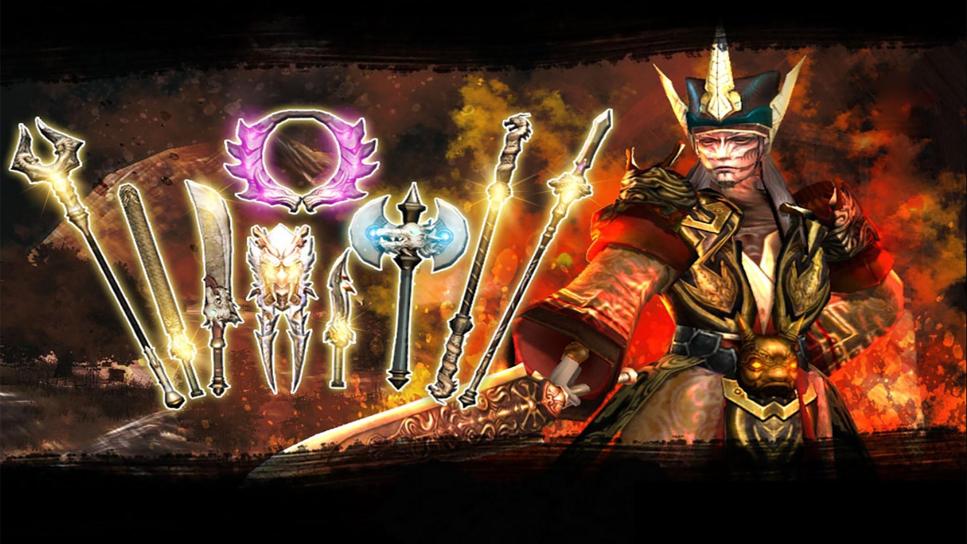 Cửu Long Tranh Bá cập nhật khủng, cơ hội săn vũ khí mạnh nhất cho game thủ