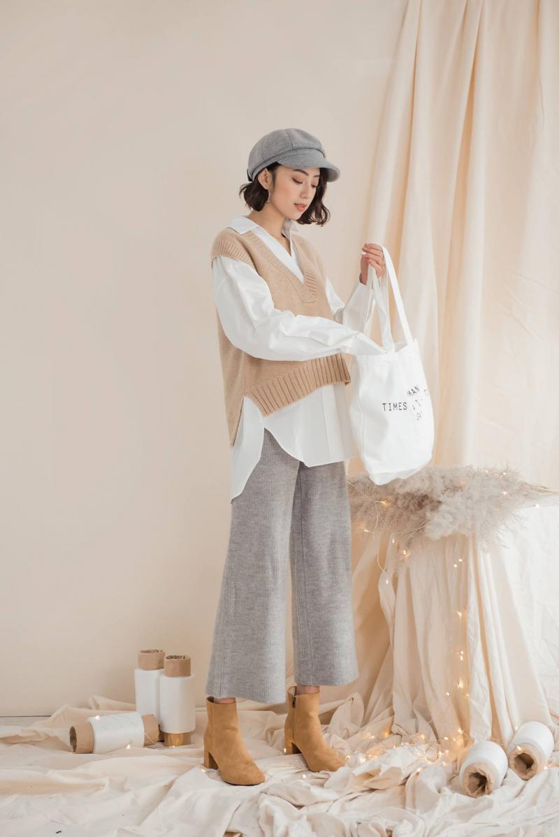 Áo len tại 22.Décembre luôn có thiết kế tinh tế