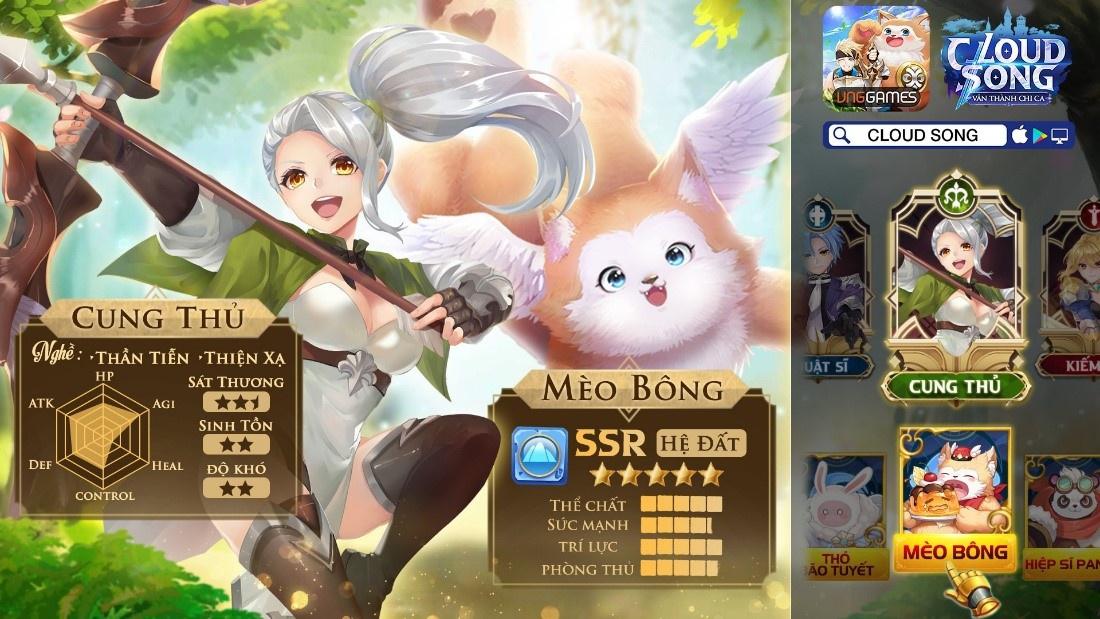 Cloud Song VNG: Cộng đồng game thủ nhộn nhịp sau 3 ngày ra mắt