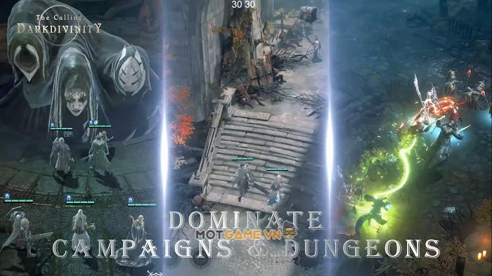 Dark Divinity: The Calling: game idle 3D lấy bối cảnh thế giới ma thuật đen tối