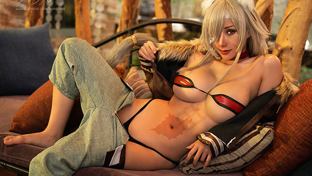 Cosplay Kiếm Vương của Mushoku Tensei sexy thế này thì anh em phải chuyển sinh gấp