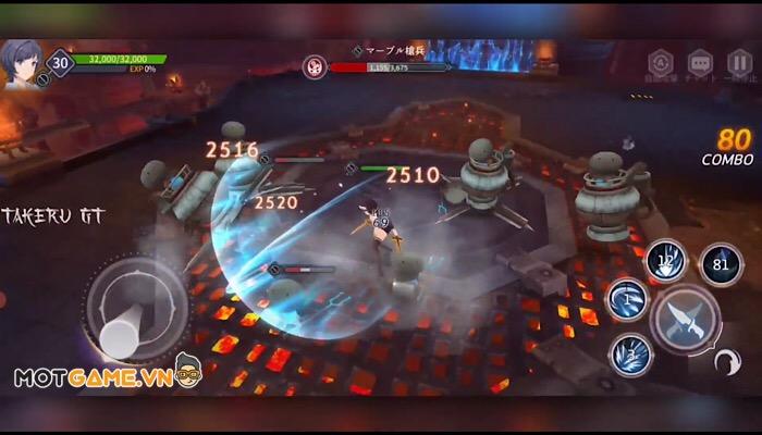 Girl Crush: GaruKura Rantou: Game nhập vai hành động combat cực kỳ đã tay!