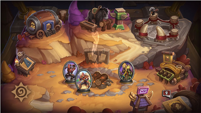 Hearthstone giới thiệu chế độ chơi Mercenaries
