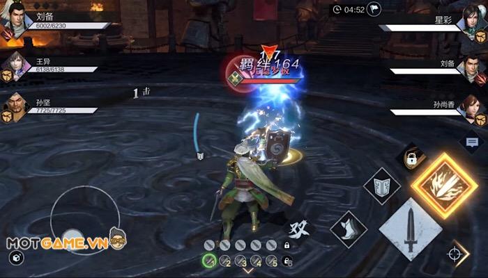Dynasty Warriors: Dominate tái hiện thế giới Tam Quốc một cách chân thực.