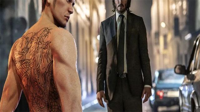 NSX Lost Judgement cho rằng Kiryu của series Yakuza mạnh hơn John Wick