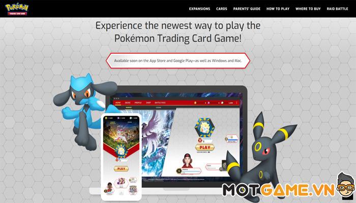 Pokémon: Trading Card Game Live chuẩn bị có mặt trên di động!