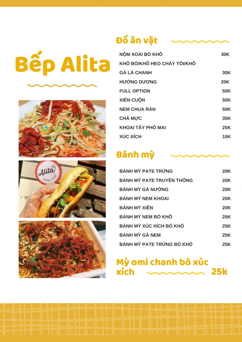 ALITA drink & food