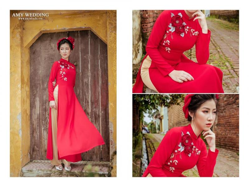 Top 7 Địa chỉ thuê áo dài cưới hỏi đẹp nhất Sơn Tây, Hà Nội