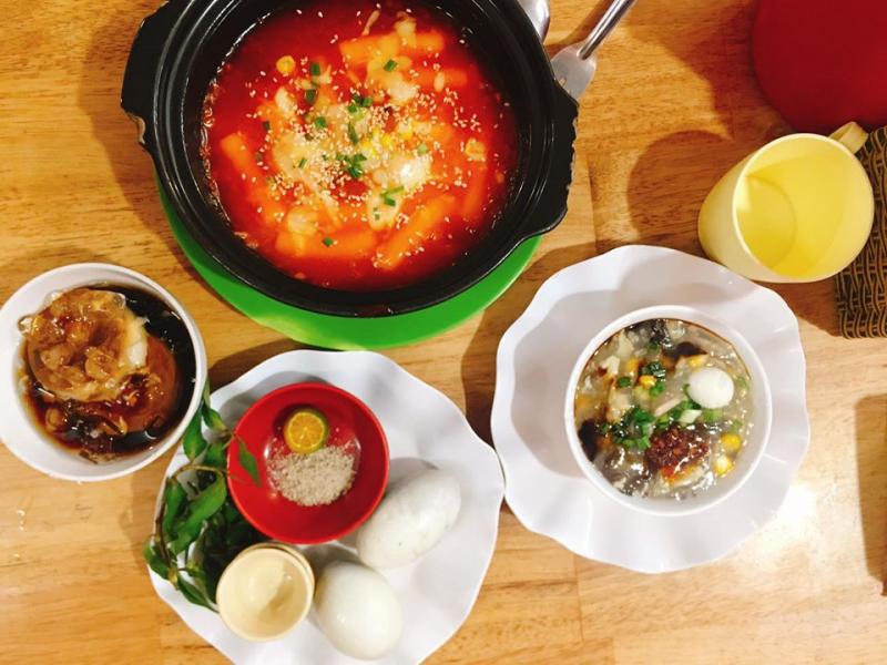 Đa dạng các món ăn ở MYM
