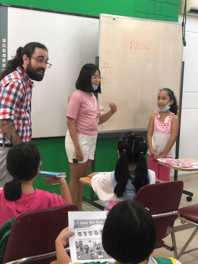 Học tập với giáo viên là người bản xứ