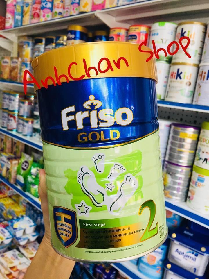Sữa Friso Nga số 2 tại AnhChan Mart