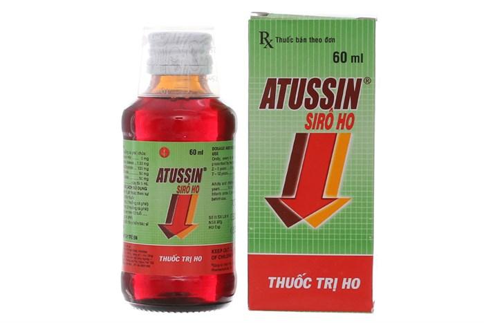 Siro ho Atussin chai 60ml