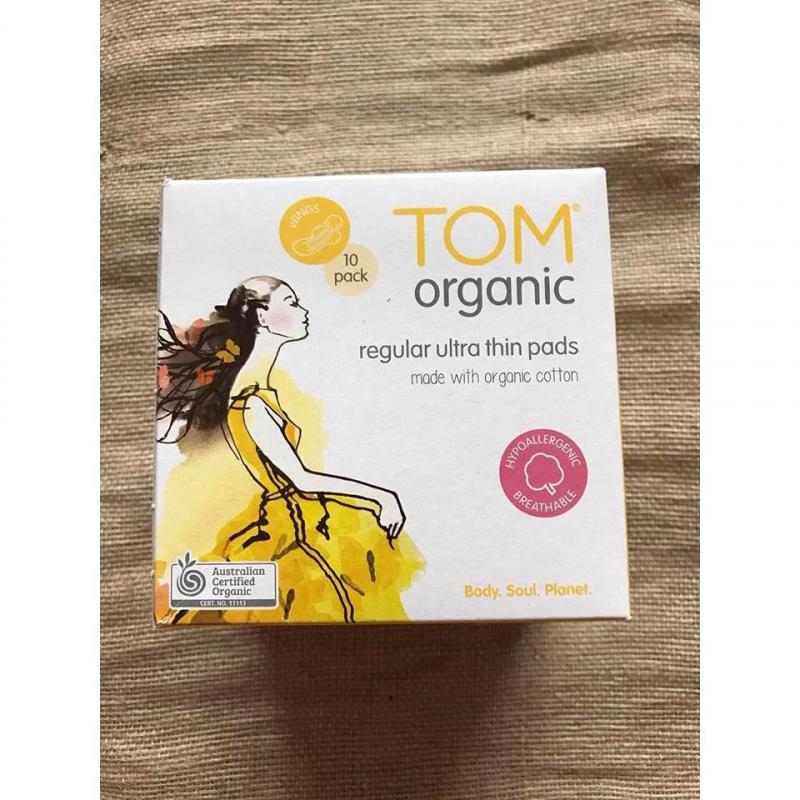 Băng vệ sinh hữu cơ Tom Organic