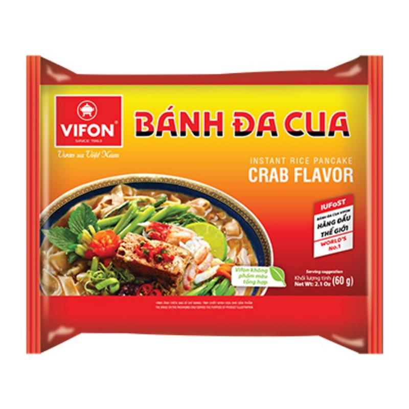 Hình quảng cáo Bánh Đa Cua Vifon