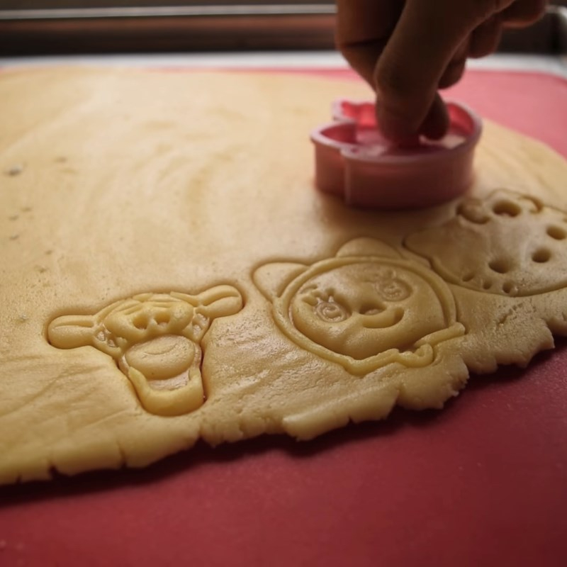Bánh quy bơ hình thú