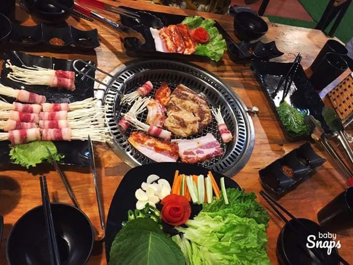 Nướng tại BBQ Sonamu