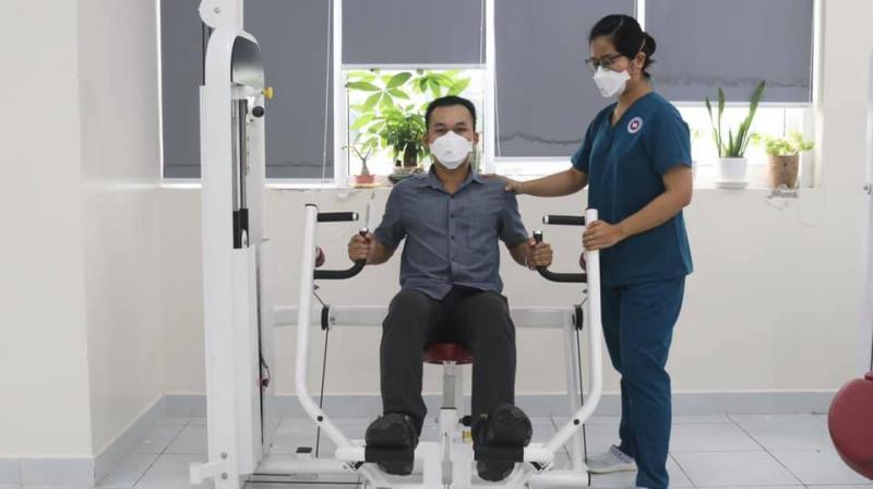 Với cơ sở vật chất hiện đại hơn với hơn 80 giường bệnh, khoa Phục hồi chức năng nội trú - Bệnh viện 1A luôn là một trong các khoa điều trị được bệnh nhân tin tưởng và hài lòng nhất