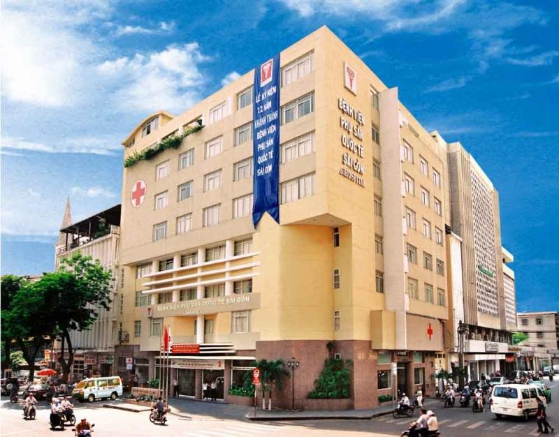 Bệnh viện Phụ sản Quốc tế Sài Gòn Là một bệnh viện tư nhân chuyên khoa sản phụ, khoa nhi sơ sinh và làm thụ tinh trong ống nghiệm
