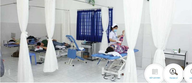 Phòng điện trị liệu được trang bị hệ thống thiết bị hiện đại, được bảo trì thường xuyên, đảm bảo cung ứng đủ cho số lượt điều trị.