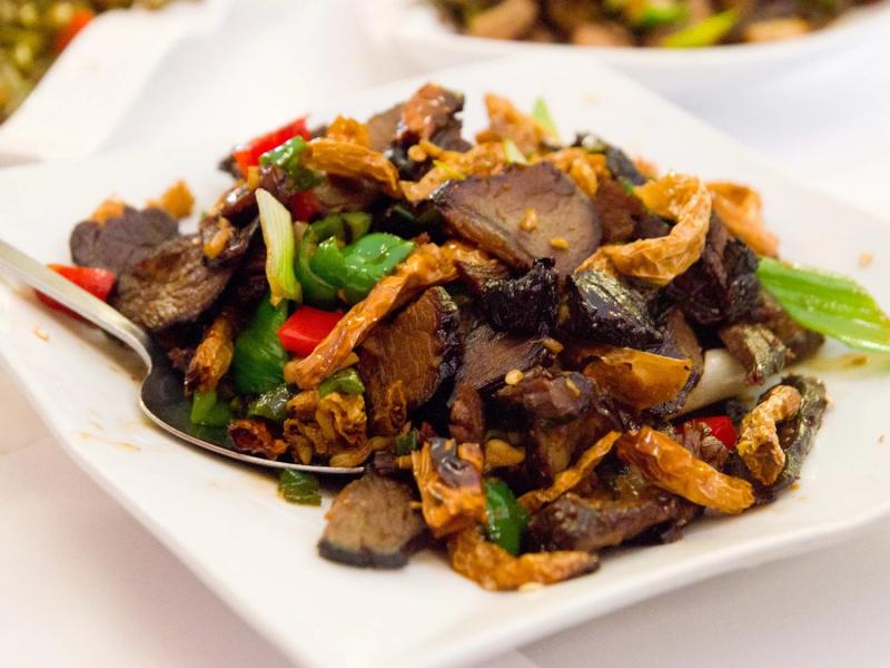 Bò cay Hồ Nam