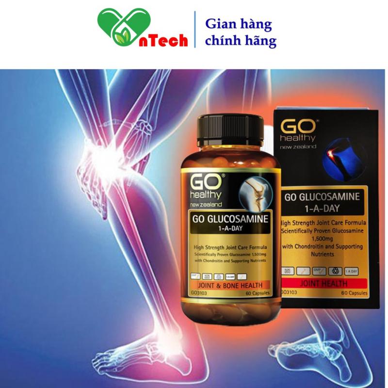 Bổ xương khớp Go Healthy Glucosamine 1500mg